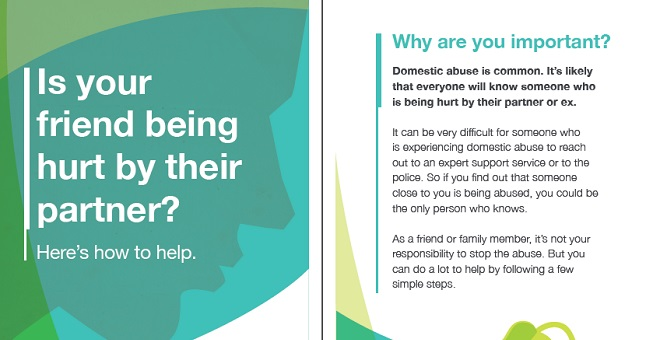 Free Domestic Abuse Resources to #HelpAFriend