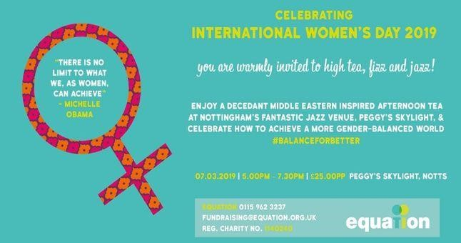 International Women's Day High Tea and Fizz