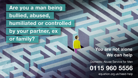 3 Things You Should Know about Men's Experiences of Domestic Abuse