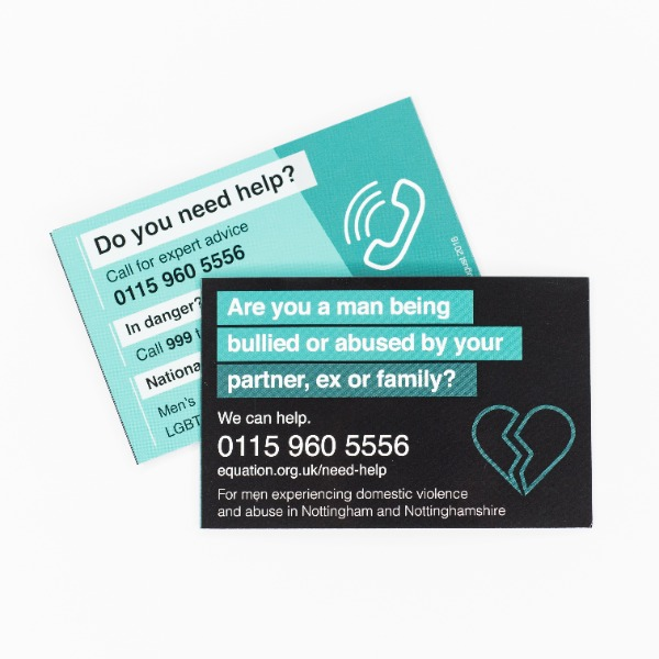 domestic abuse cards for men