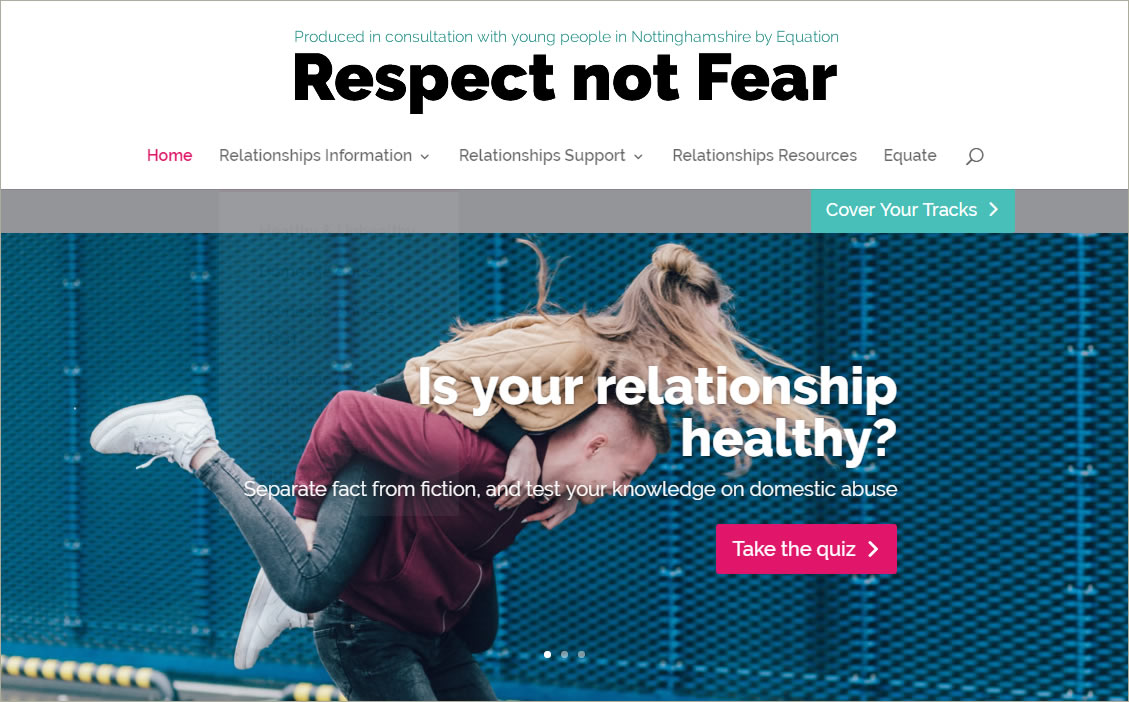 Equation Domestic Abuse Nottingham respect not fear