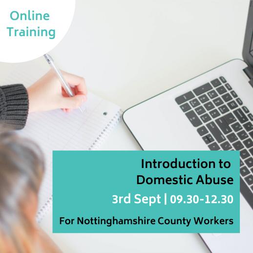 domestic abuse training Nottinghamshire