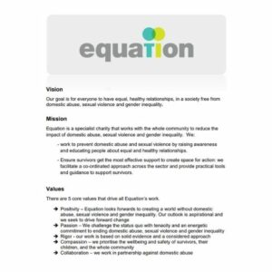 Equation Vision