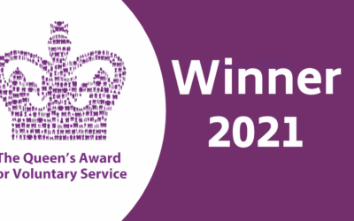 We've won the Queen's Award for Voluntary Service